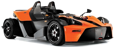 The KTM X-Bow comes to Hangar 111