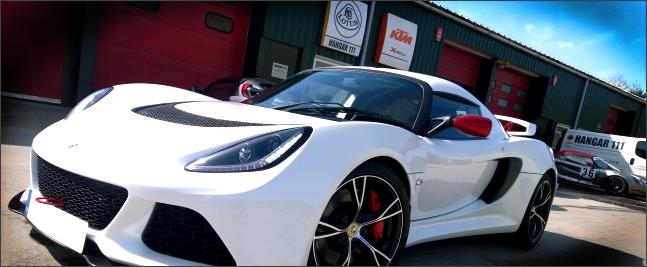 Lotus Exige V6 at Hangar 111