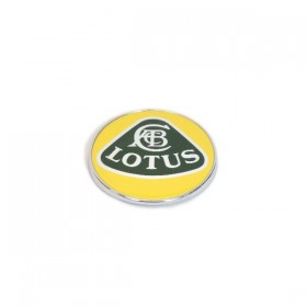 Lotus Nose Badge - Yellow/Green Enamel