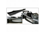 340R RH Carbon Top Shell Guard