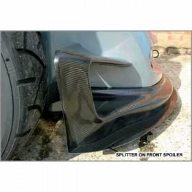 340R Carbon Front Splitter