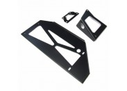 Intercooler/Chargecooler Mounting Kit (black)