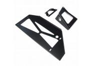 Intercooler/Chargecooler Mounting Kit (black)