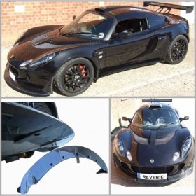 Exige S2 Front Spoiler Full Race version for std clam