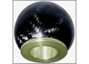 FOR ELISE/EXIGE S2 111R & 240R TOYOTA ENGINED LATE CARS 09-CARBON FIBRE GEARKNOB UNFILLED