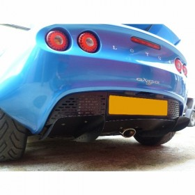 Signature Exhaust Oval Tail - Elise 111R/Exige S2/2-Eleven Toyota 4cyl Slash Cut Through Diffuser