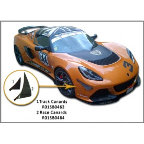 Exige V6 Carbon Fibre Front Canards