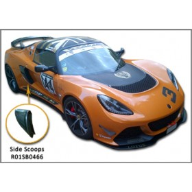 Exige V6 Carbon Fibre Side Scoops