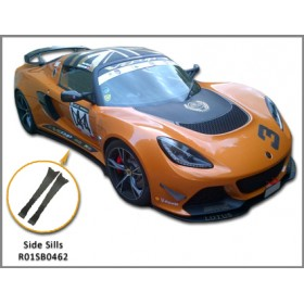 Exige V6 Carbon Fibre Side Sill Extensions