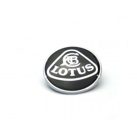 Lotus Nose Badge - Black/Silver