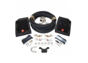 Twin Front-Mounted Oil Cooler Kit